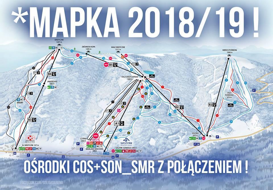 W Szczyrku Zaprezentowano Mape Polaczonych Osrodkow Narciarskich